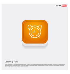 alarm clock icon vector image