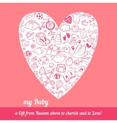 baby care vector image