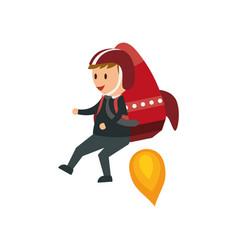 Businessman entrepreneur cartoon vector