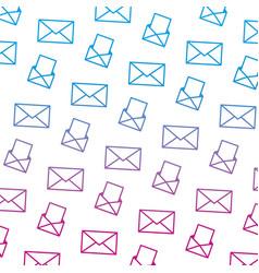 Degraded line e-mail communication document vector