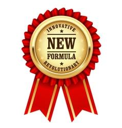 Golden rosette - new innovative formula vector