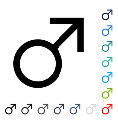 mars male symbol icon vector image