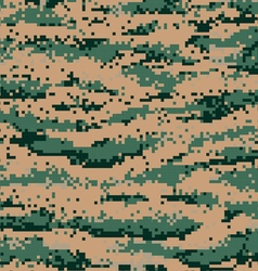 modern pixel camouflage vector image