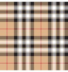Pride of scotland gold tartan fabric texture vector