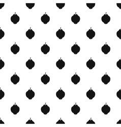 Quince pattern simple style vector