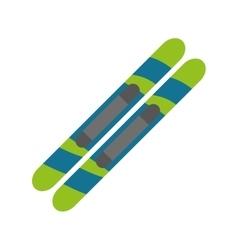 ski sport icon vector image