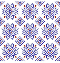 Vintage tile pattern vector