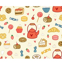 Party sweets and treats vector image vector image