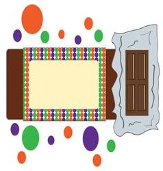 Chocolate Bar vector image vector image