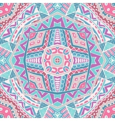 abstract pink geometric ornament background vector image