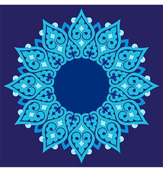Artistic ottoman pattern series thirty seven vector