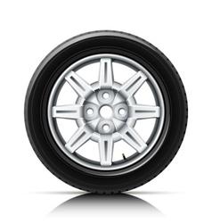 car wheel vector image