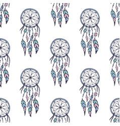 Creative boho style frames mady ethnic vector