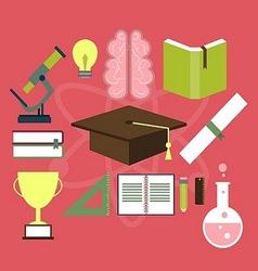 Education Item Flat Design vector image