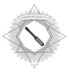 screwdriver icon symbol symbol vector image