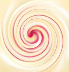 texture dairy cream with raspberry fruit jam vector image
