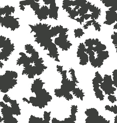 cow skin pattern vector image vector image