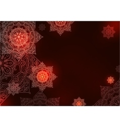 mandala background pattern vector image vector image