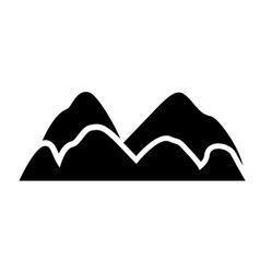 Mountain of nature landscape design vector