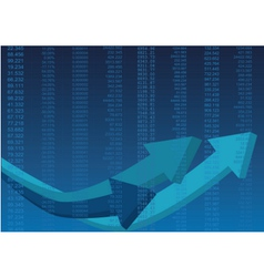 Business data vector image