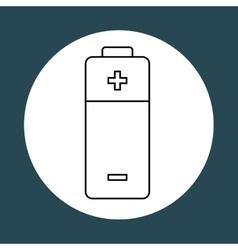 Battery power design vector