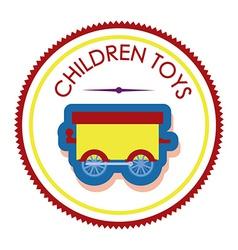 Boy toys desing vector