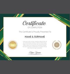 Certificate or diploma modern design template 6305 vector