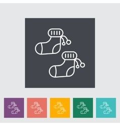 children socks vector image