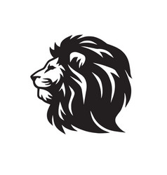 lion classic logo vector image