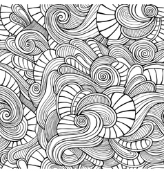 Ornamental vintage Floral abstract seamless vector