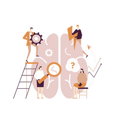 Psychology concept - modern flat design vector