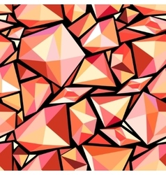 Abstract pattern polygons vector