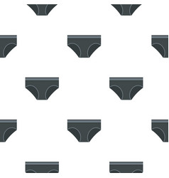 Gray underwear panties pattern seamless vector