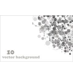 Molecule background vector