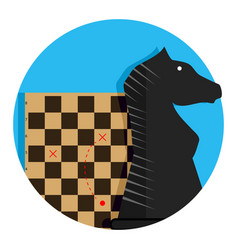 tactic and strategy icon vector image