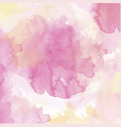 watercolor texture with soft tones vector image
