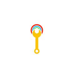 wifi repair logo design element vector image