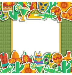 Mexican frame vector