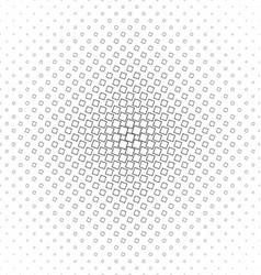 Monochrome geometric angular square pattern vector image