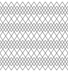 Seamless geometric line pattern vector image