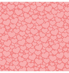 Abstract pattern with hearts vector image