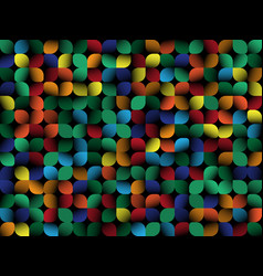 geometrical abstract background color elements on vector image vector image