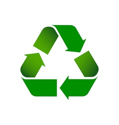Recycle Symbol Colored vector image vector image