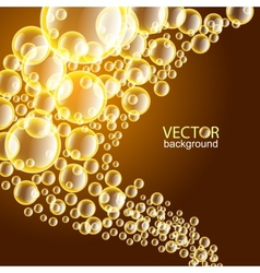 BubblesBackground vector image