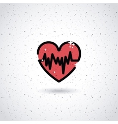 cardiology icon design vector image