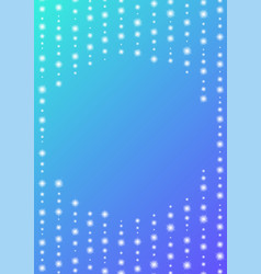 Circle sparkling line abstract background vector