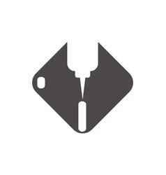 cnc logo vector image