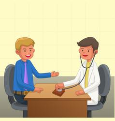 Financial health concept vector