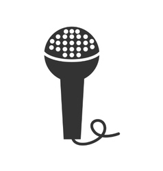 icon microphone vector image