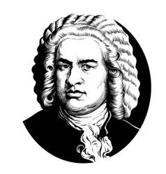 Johann sebastian bach vector